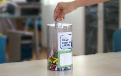 Sostenibilidad: reciclaje de pilas